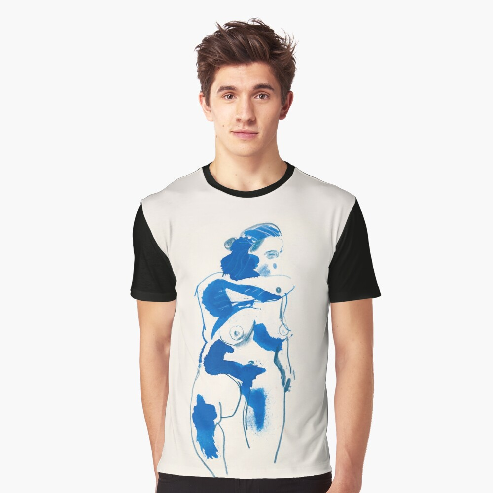 Figure drawing no.4 Graphic T-Shirt Front