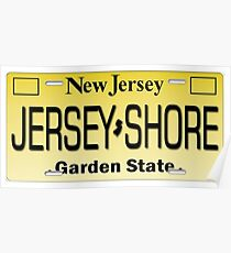 J shore License plate Poster