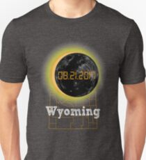 Total Solar Eclipse Wyoming WY Tshirt 21 August 2017 T-Shirt