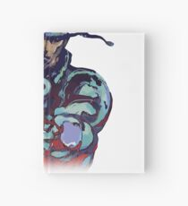 Metal Gear Solid Snake Classic RARE Design 100% Redrawn In Adobe Ilustrator Vector Format.  Hardcover Journal