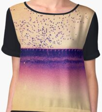 Across the Waters to the Sun Chiffon Top