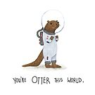 Otter this world  by panda3y3