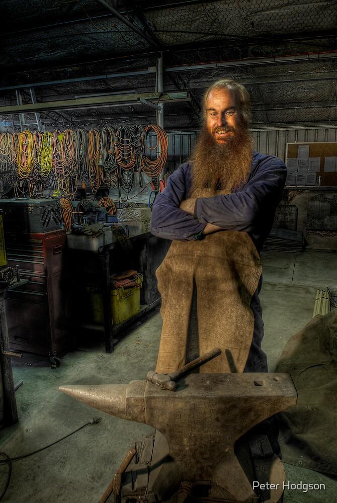 Bruce the Blacksmith by Peter Hodgson