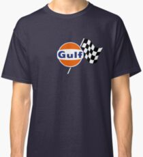 Gulf Racing checkered Classic T-Shirt