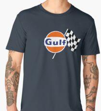 Gulf Racing checkered Men's Premium T-Shirt