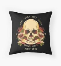 For Jerry Throw Pillow