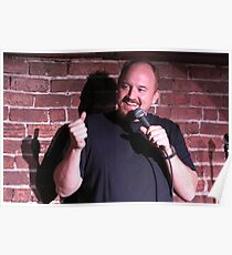 Louis CK, King of Stand Up Poster
