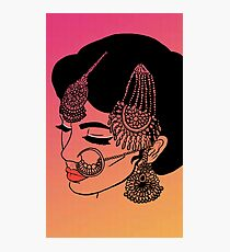 Ombre Dulhan  Photographic Print