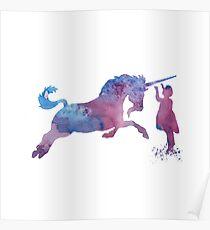Unicorn Art Poster