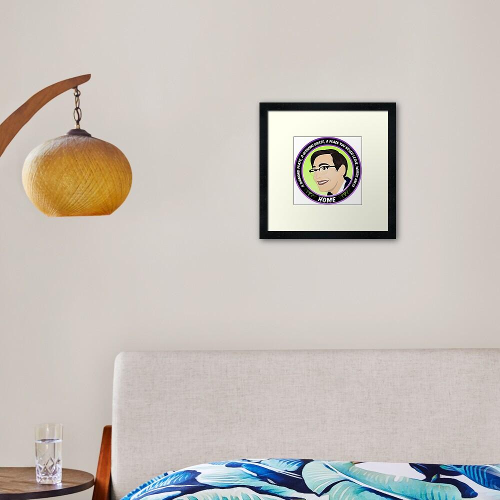Edward Nygma Framed Art Print