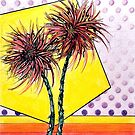 Spider Lilies, Colored Pencil Drawing by Danielle Scott