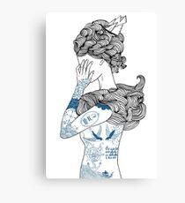 Die Frau vom Meer Canvas Print