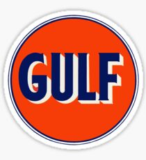 Gulf vintage Sticker