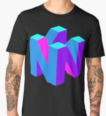 Nintendo 64 N logo Men's Premium T-Shirt