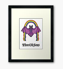 Thee Oh Sees 2 Framed Print