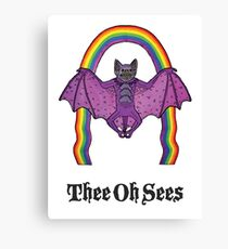 Thee Oh Sees 2 Canvas Print