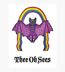 Thee Oh Sees 2 Photographic Print