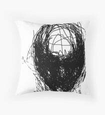 'Vague' Throw Pillow