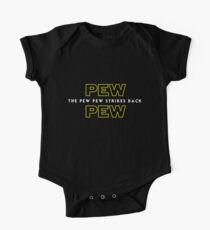 The Pew Pew Strikes Back Kids Clothes
