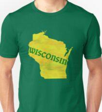 Wisconsin - Watercolor T-Shirt