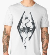 Skyrim Logo Men's Premium T-Shirt