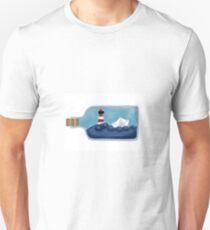 Das Flaschenschiff T-Shirt