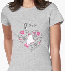 Maine - Always In My Heart (Bold Color Version) T-Shirt