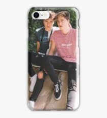 slide twins  iPhone Case/Skin