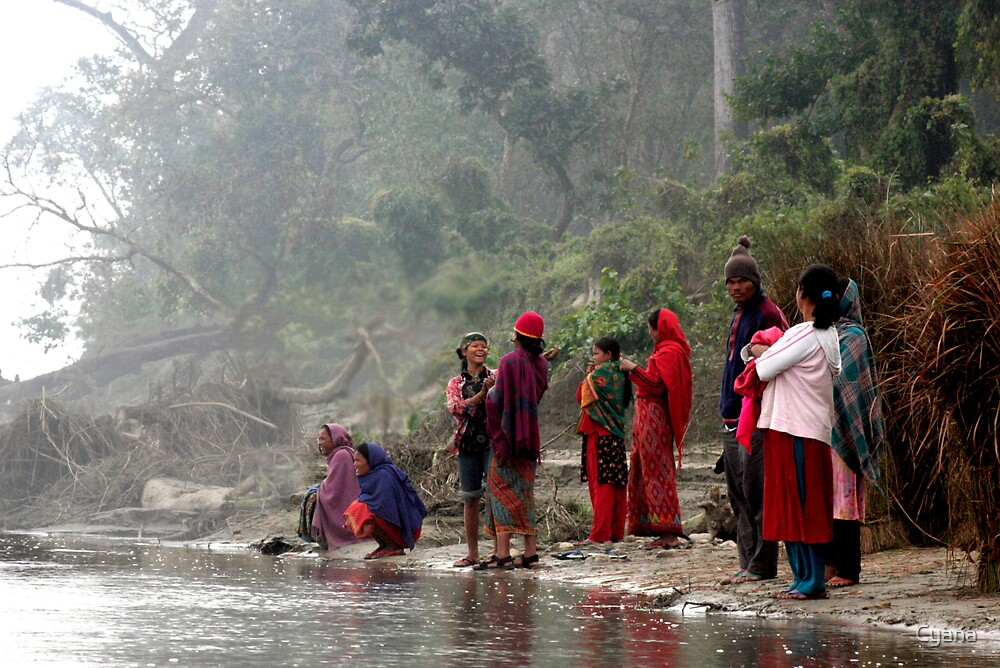 River people by Cyana
