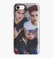 rock on twins  iPhone Case/Skin