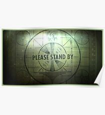 Fallout - Please wait Poster