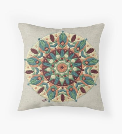 Leaf Catcher Throw Pillow