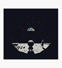 Lonely Space Photographic Print