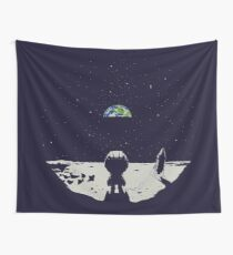 Lonely Space Wall Tapestry