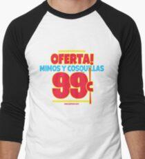 Oferta! Mimos y Cosquillas 99¢ - Spanglish Men's Baseball ¾ T-Shirt