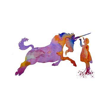 Unicorn Art by BittenByErmines