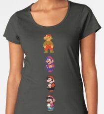 All 8 Bit Mario Women's Premium T-Shirt