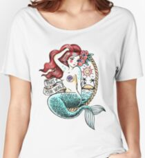 Mermaid Tattoo Women's Relaxed Fit T-Shirt