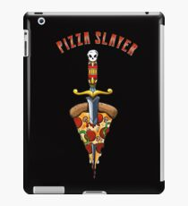 Pizza Slayer Traditional Tattoo Style iPad Case/Skin