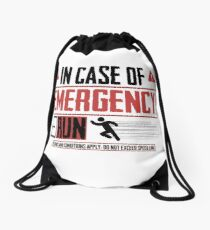 Emergency Drawstring Bag