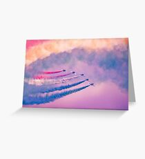Southport Air Show - Red Arrows Greeting Card