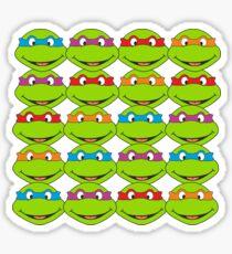 TOO MANY NINJA TURTLES Sticker
