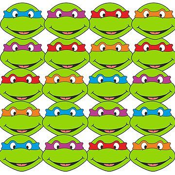 TOO MANY NINJA TURTLES by KinkyKaiju
