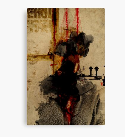 EXAMPLE OF A PORTRAIT OF AN UNKNOW PERSON, FORGOTTEN AFTER DEATH Canvas Print