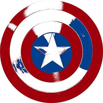 Cap's Shield by jimirads