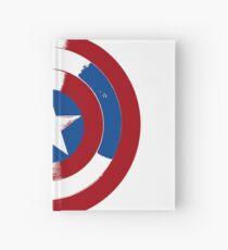 Cap's Shield Hardcover Journal