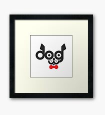 Clever Dog Framed Print