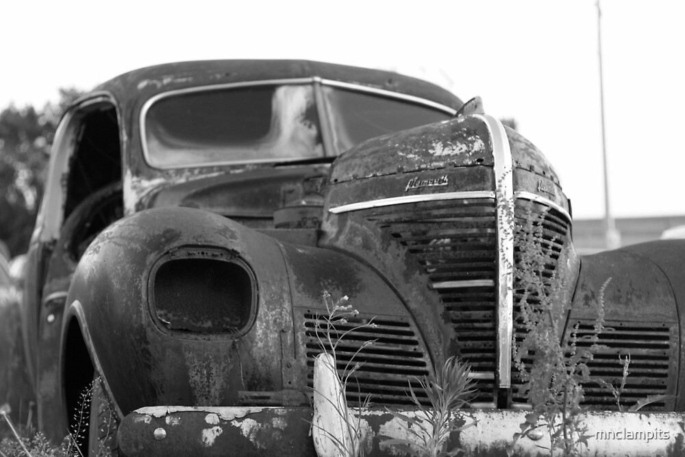 Old Plymouth by mnclampits