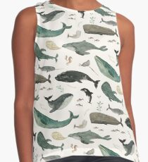 Whale Song Contrast Tank