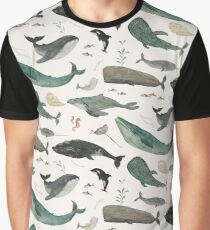 Whale Song Graphic T-Shirt